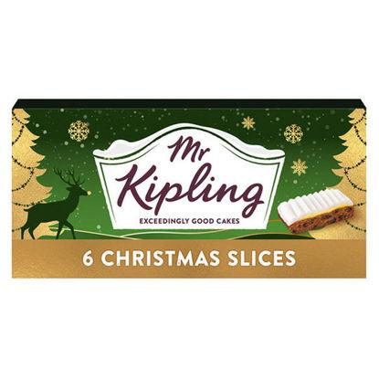 Picture of Mr Kipling 6 Christmas Slice