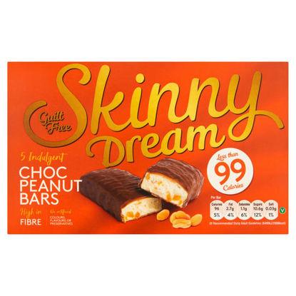 Picture of Skinny Dream Indulgent Choc Peanut Bars 5 x 24g