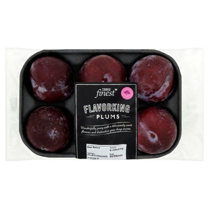 Picture of Tesco Finest Plums Minimum 4 Pack