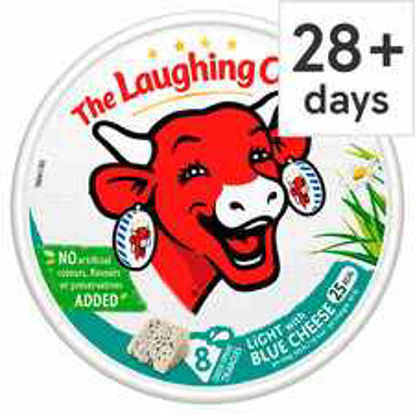 Picture of The Laughing Cow Light Blue Triangles 128G