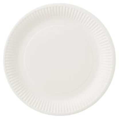 Picture of Tesco Basic Paper Plates 23Cm 50 Pack
