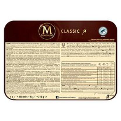 Picture of Magnum Classic Ice Cream 4 X 110Ml