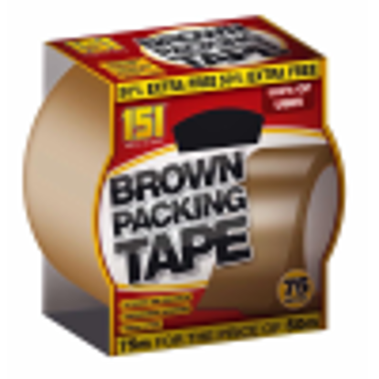 Picture of 151 Brown Packaging Tape 48mm x 75m