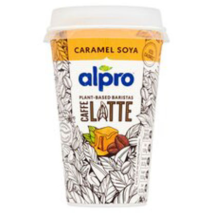 Picture of Alpro Caffe Ethiopian Coffee & Soya Caramel 235Ml