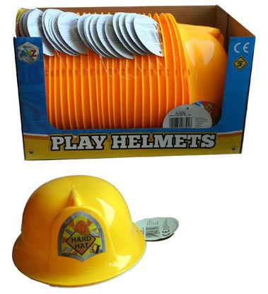 Picture of Children's Play Working Helmet - Yellow