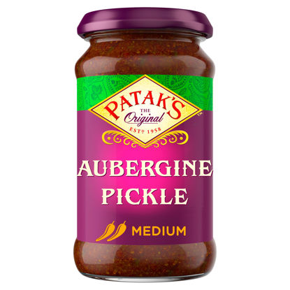 Picture of Pataks Aubergine Pickle 312 g