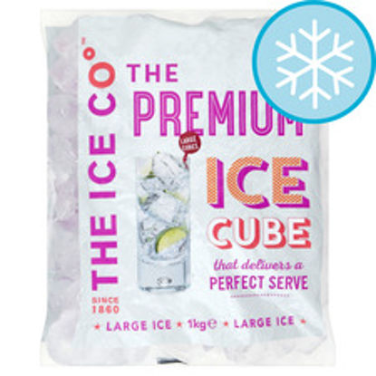 Picture of The Ice Co. Premium Ice Cubes 1Kg