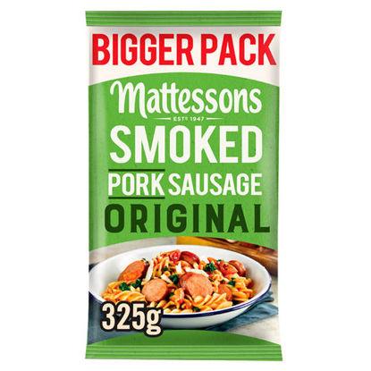 Picture of Mattessons Smoked Pork Sausage Original 325G