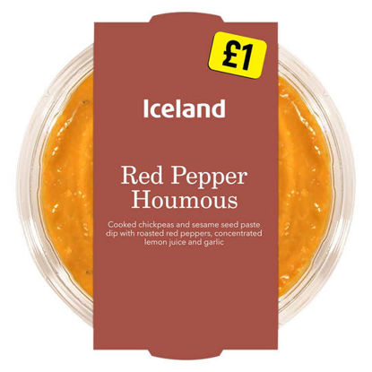 Picture of Iceland Red Pepper Houmous 200g