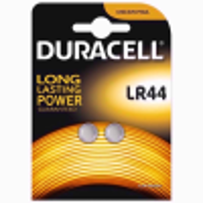 Picture of Duracell Specialty Type LR44 Alkaline Coin Battery, Pack of 2