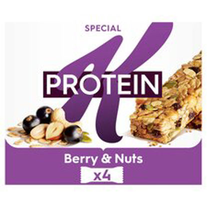 Picture of Special K Protein Blackcurrant & Pumpkin Seed Bars 4X28g