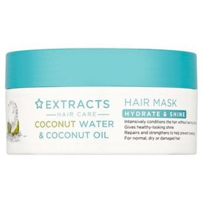 Picture of Superdrug Hydrate & Shine Hair Mask with Coconut Water