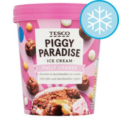 Picture of Tesco Piggy Paradise Ice Cream 480Ml