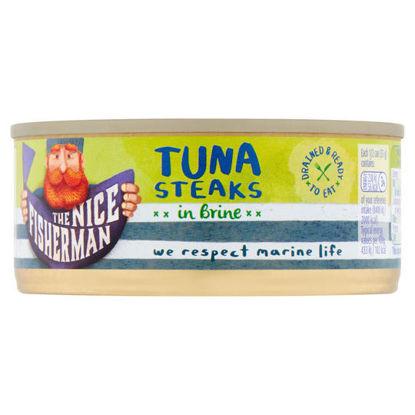 Picture of The Nice Fisherman Tuna Steaks in Brine 110g