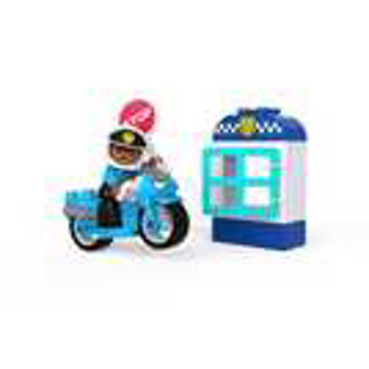 Picture of LEGO DUPLO Police Bike Toys For Toddlers 10900