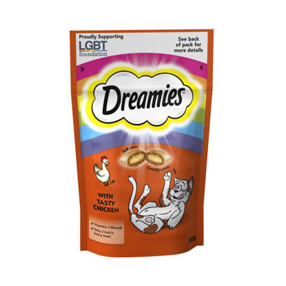 Picture of Dreamies Cat Treats With Chicken 60G