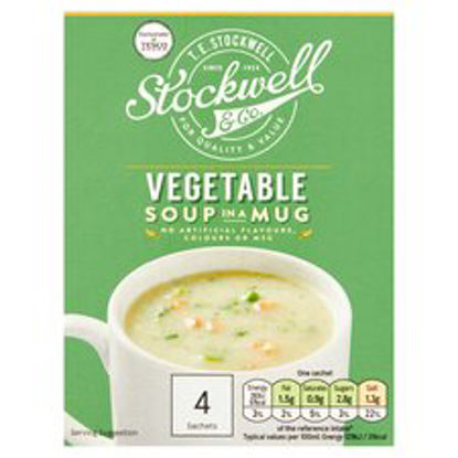Picture of Stockwell & Co Vegetable Soup In A Mug 4 Pack 72G