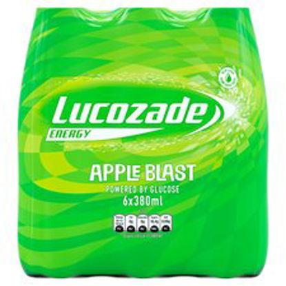 Picture of Lucozade Energy Apple Blast 6X380ml