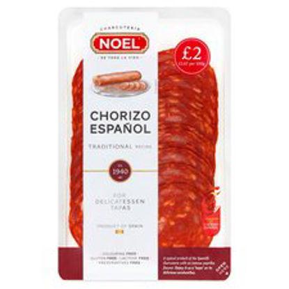 Picture of Noel Sliced Chorizo Mild 120G