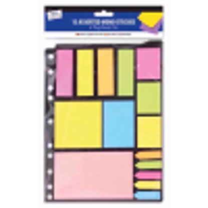 Picture of Just stationery Memo Stickies on Ring Binder Mount