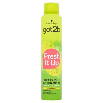 Picture of Schwarzkopf G2b Fresh It Up 200Ml Dry Shampoo