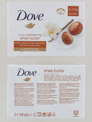Picture of Dove Shea Butter Beauty Cream Bar Of Soap - 2 X 100G