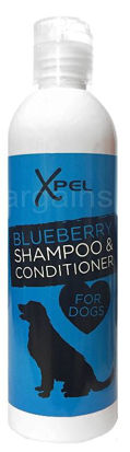 Picture of Xpel Dog Puppy Shampoo & Conditioner + Deodoriser Spray - Blueberry
