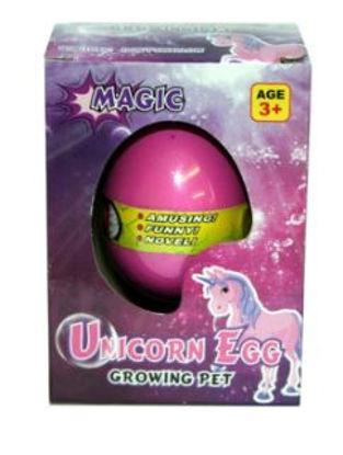 Picture of Magic Growing Pet Unicorn Egg Growing Pet - Pink