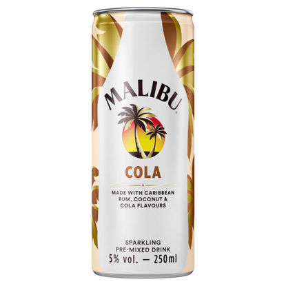Picture of Malibu & Cola 250Ml