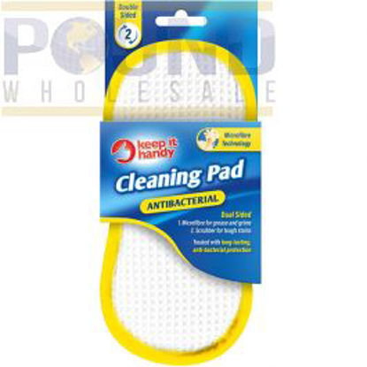 Picture of Keep it Handy Dual Sided Antibacterial Cleaning Pad - 20.5 x 10cm