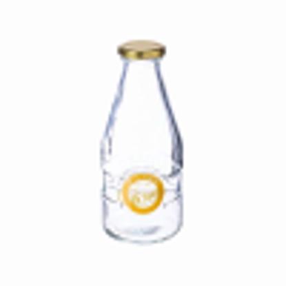 Picture of Kilner 1 Pint Milk Bottles 20oz - Vintage School Style Glass Milk Bottle for Retro Drinks Service