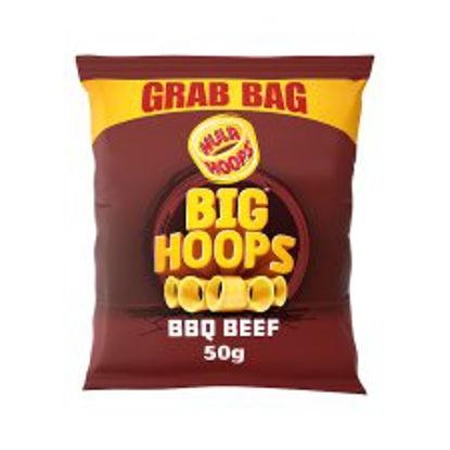 Picture of Kp Hula Hoop Bbq Snack Grab Bag 55G