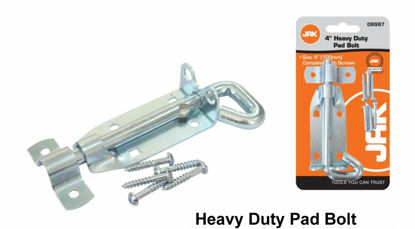 """Picture of Heavy Duty Pad Bolt - 4"""""""