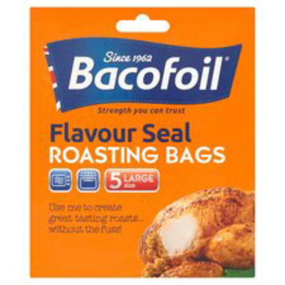 Picture of Bacofoil EasyRoast Large Cooking Bags, 5 bags