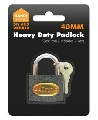 Picture of 40mm Heavy Duty Cast Iron Padlock