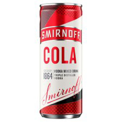 Picture of Smirnoff & Cola 250Ml