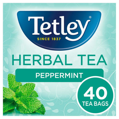 Picture of Tetley Peppermint Tea Bags x40