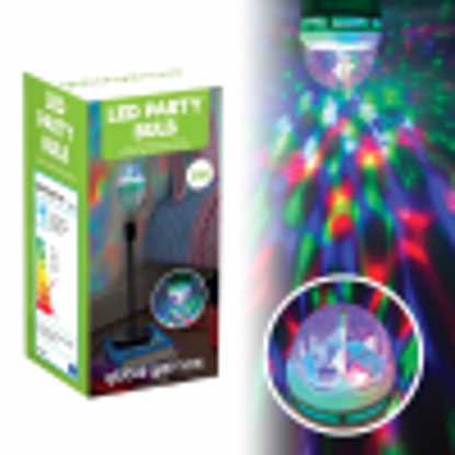 Picture of Global Gizmos (Gen) 45570 B22 Bayonet Cap 1 W LED Disco Party Light Bulb