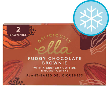 Picture of Deliciously Ella Fudgy Chocolate Brownie 170G