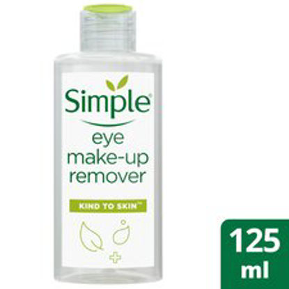 Picture of Simple Kind To Eyes Eye Make-Up Remover 125Ml