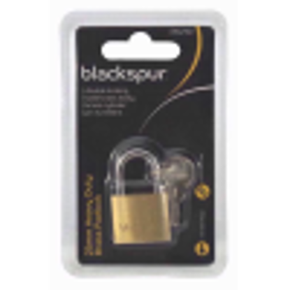 Picture of Blackspur BB-PD210 25MM HEAVY DUTY PADLOCK WITH HARDENED SHACKLE