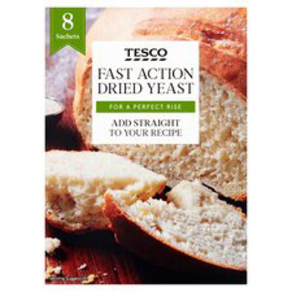 Picture of Tesco Dried Yeast 56G