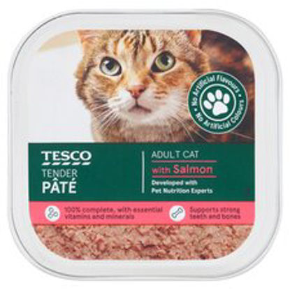 Picture of Tesco Standard Pate With Salmon 100G