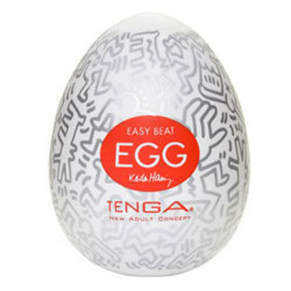 Picture of Tenga Keith Haring Party Egg Masturbator
