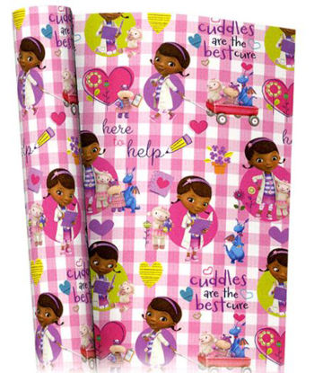 Picture of Disney Junior Doc Mcstuffins Gift Wrapping Paper - 2M X 69Cm