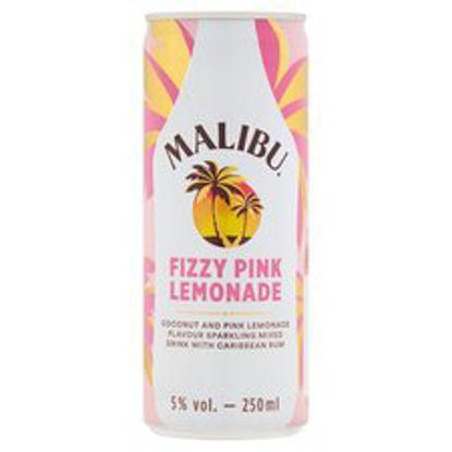 Picture of Malibu Fizzy Pink Lemonade 250Ml