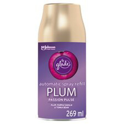 Picture of Glade Automatic Refill Air Freshener Plum Passion Pulse 269Ml