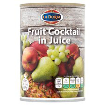 Picture of La Doria Fruit Cocktail In Juice 411G