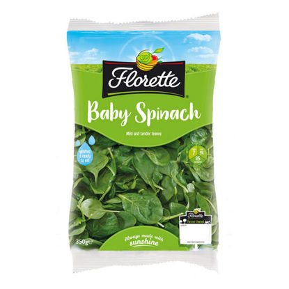 Picture of Florette Baby Spinach 350g