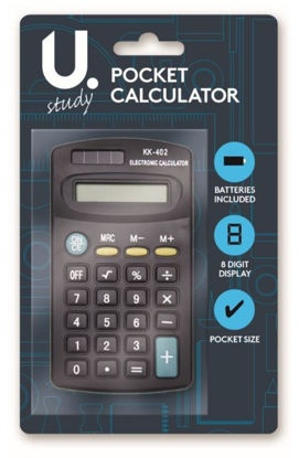 Picture of Black Pocket Size Calculator
